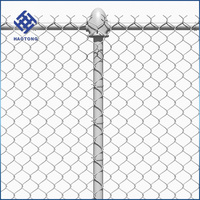 30 Years' factory supply chain link fence per square meter price