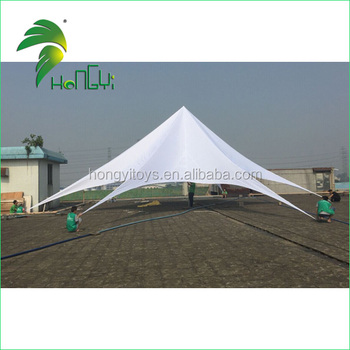 Hot selling Custome Waterproof Star Shaped Tent Single Pole Star Tent For Outdoor Party