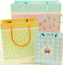 happy birthday cards packaging paperboard paper bag for gift made in china
