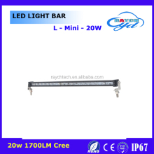 single row 50W 60W 10W 20W 30W 40W led light bar 37inch 3d 4x4 offroad parts led light bar for J eep