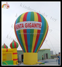 2015 China customize advertising air balloon , inflatable big balloon to promotion