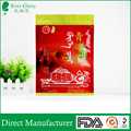 Hot sell custom made heat sealed plastic empty tea bags for 250/500g