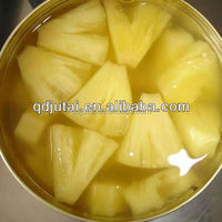 Canned pineapple chunk 3000g/canned fruit/canned foods