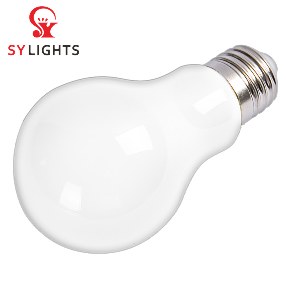 A60/A19 AC175-265V E27 5W 7W 9W 90lm/w 2700-6500k CRI80 PF0.4 360 degree no dimmable clear frosted glass led light <strong>bulbs</strong>
