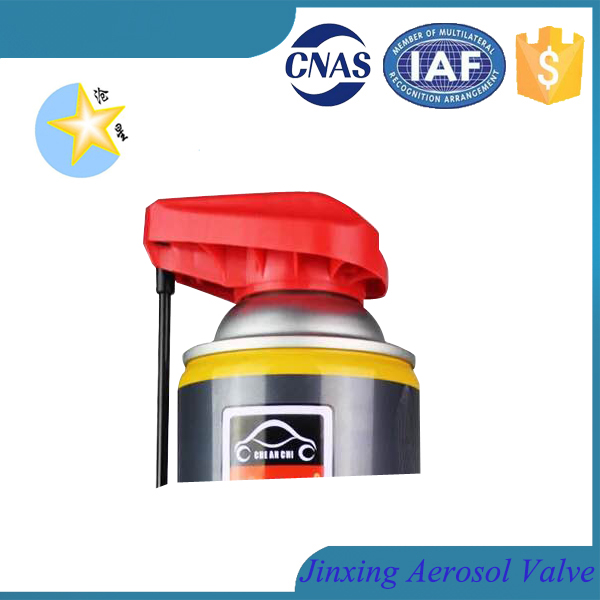 Two use spray trigger for insecticide and silicone