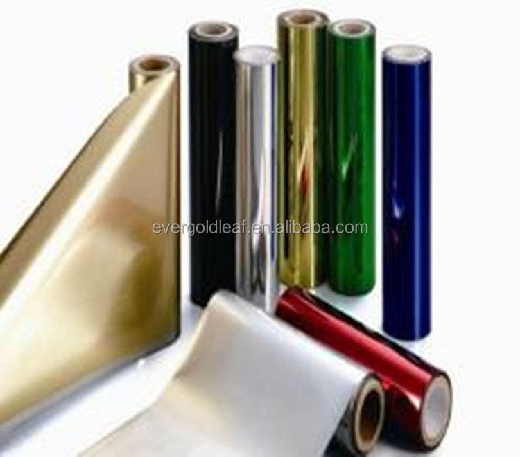 12micron hot stamping foil suppliers PET film price