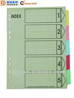 New design Paper Index Dividers,paper tabs