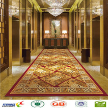hot customized hotel corridor nylon Printed carpet