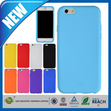 C&T good QCD silicon gel case for iphone 6