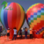 Customized Giant Roof Top Balloon, Colorfull Inflatable Ground Air Balloon For Sale