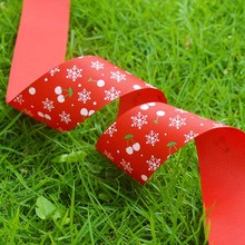 Wholesale merry christmas ribbon,grosgrain ribbon