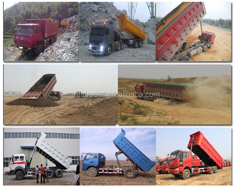Dongfeng 15-20 Ton van dump truck sale for Philippines