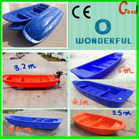 Hard large Plastic fast Rescue Boat fishing boats
