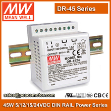Meanwell DR-4512 Din rail 12V 3.5a power supply with 2 years warranty
