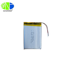3.7v rechargeable 2500mAh lithium polymer battery