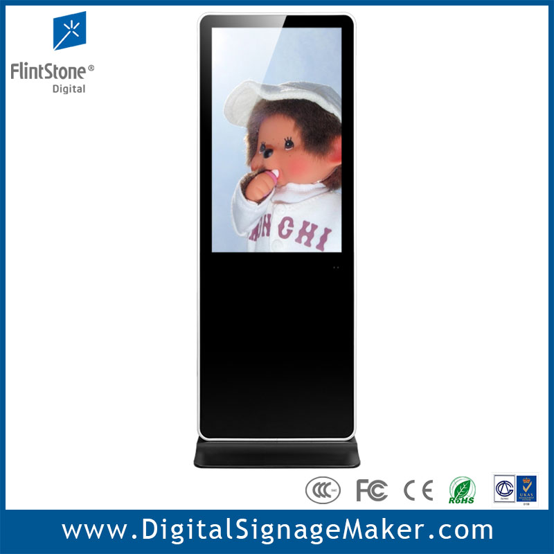 42 inch vertical lcd stand alone advertising sign