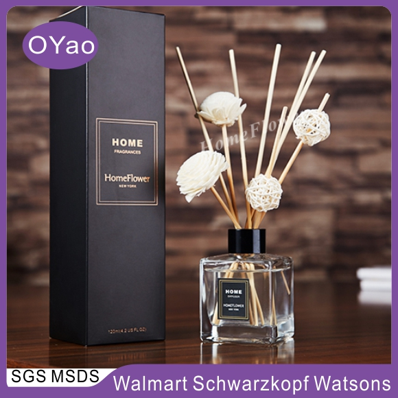 30ml Home Decorative Fragrance Oil Incense Stick Reed Diffuser Set
