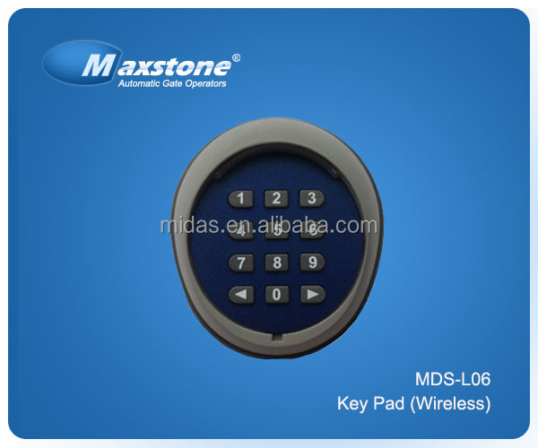 New Key Pad For Automatic Door System