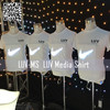 china excellent quality multi color led panel t shirt
