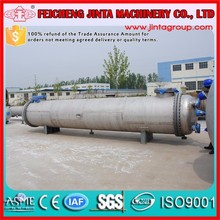 ASME standard shell tube condenser, stainless steel condenser used in chemical/oil/power industry