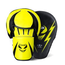 Wolon curved custom logo mma training boxing and thaihand focus mitts pads