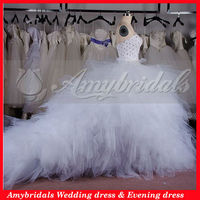 AM0466 Crystals corset puffy skirt wholesale wedding gowns latest bridal wedding gowns pictures