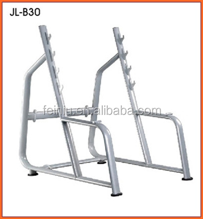 high quality integrated exercise easy squat rack machine seated trainer commercial fitness equipment for gym