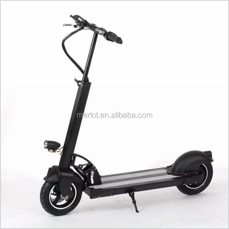 2 wheel aluminum frame folding electric sea scooter 300w