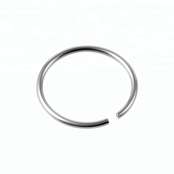 Wholesale stainless steel wire nose hoop piercing ring
