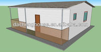 ISO 9001:2008 One Storey Two Slope Prefabricated House