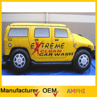 2015 top sale cheap inflatable jeep, customized inflatable car for advertising