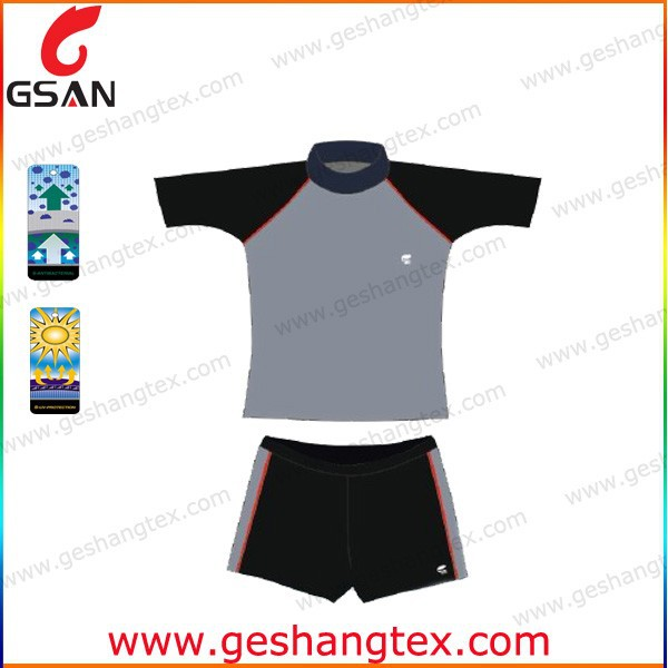 High quality boys rash guard hot sale swimsuit for kids