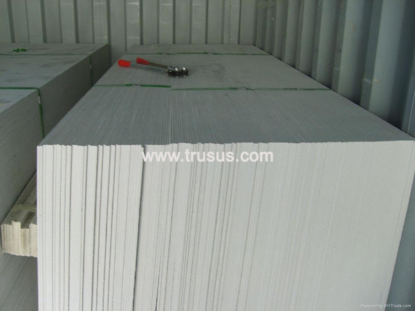 100% Non Asbestos Decorative Panel Calcium Silicate Board For Electric Factory