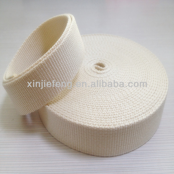 natural white ribbons cotton tapes belts