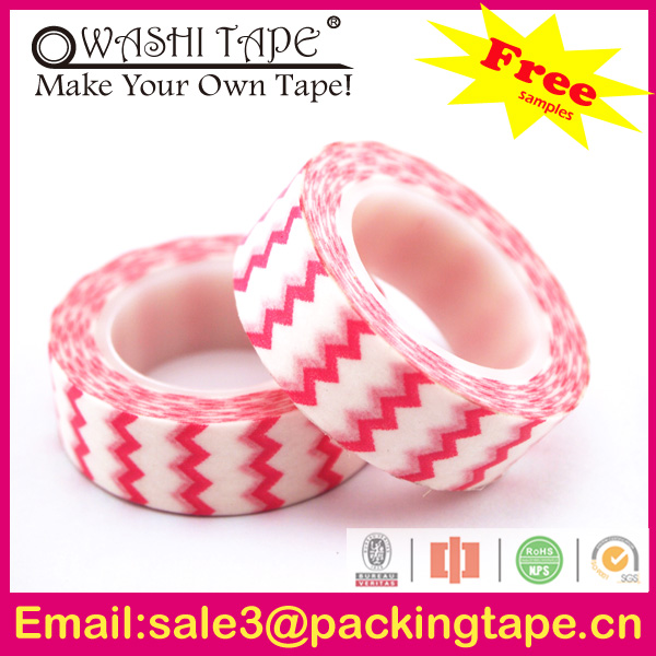 x mas decoration holographic self adhesive tapes,waterproof Japnese tape made in China SGS