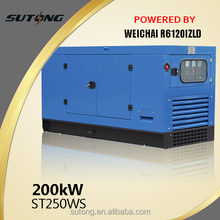 diesel power plant 200kw with stamford alternator,50/60hz
