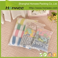 clear plastic t-shirt packing ziplock bag