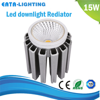 energy saving kitchen cabinet designs LED downlights light fixture of ceiling 15W rediator