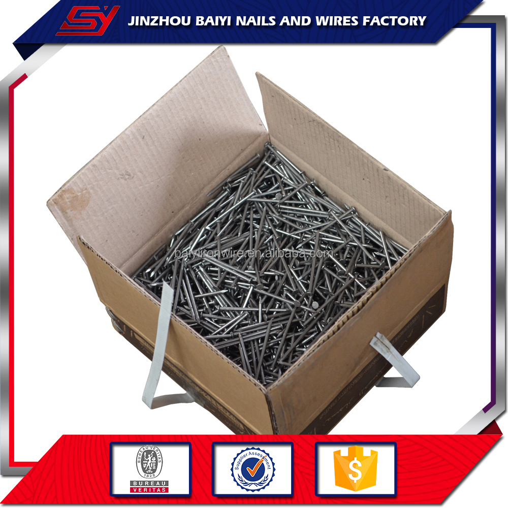 Hardened Steel Concrete Galvanized Stainless Steel Nails