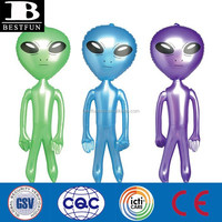 pvc inflatable alien toys cheap inflatables plastic inflatable hanging alien toys display