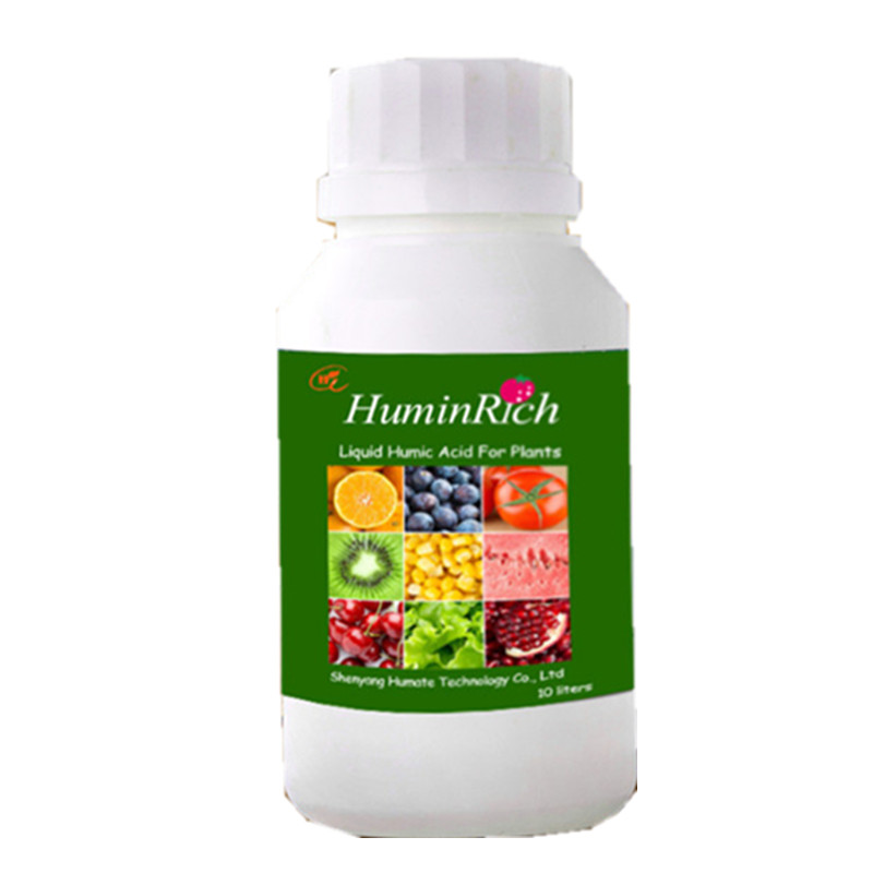 Huminrich Plant Growth Foliar Fertilizer Humic Acid Structure Leonardite Liquid