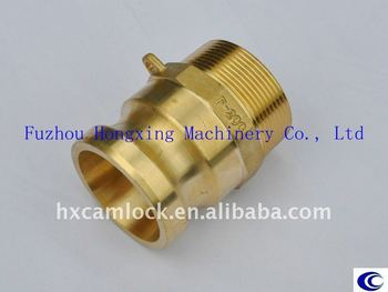 Brass Cam and Groove Coupling type F