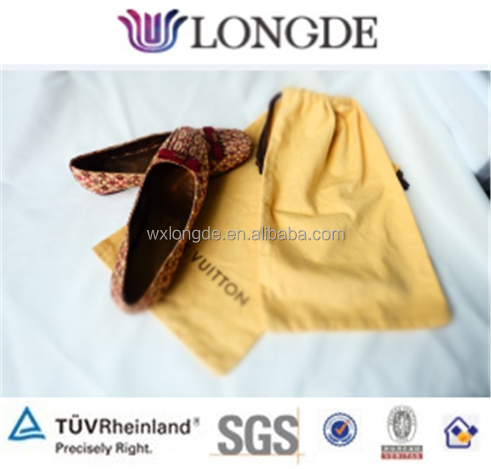 good quality cotton shoe bags