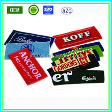 Promotional jacquard/embossed bar towel