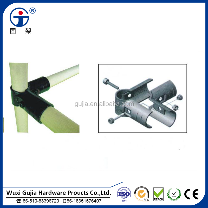 plastic coated pipe/lean tube and pipe metal joint HJ-2