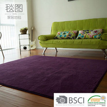 living room china carpet factory super shaggy polyester hotel carpet