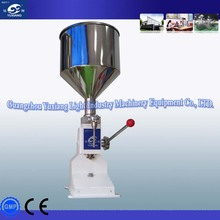 2015 hot sell stainless steel manual silicone sealant filling machine