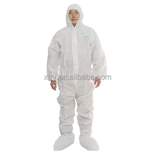 hot sale Disposable SMS Coverall in safety clothing