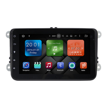 Double Din 8 inch Andriod 6.0 Car Stereo Radio DVD GPS for VW Universal with wifi DVD 2G RAM 16G Flash 3G Network