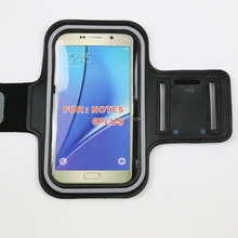 Waterproof running arm bags for galaxy note 5 active n9200 handphone